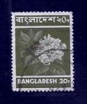 Sellos de Asia - Bangladesh -  Flor