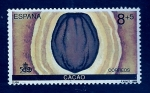 Stamps Spain -  Cacao