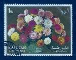 sello : Asia : Emiratos_Árabes_Unidos : Flor