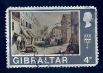 sello : Europa : Gibraltar : Paisage