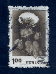 Stamps India -  Flores