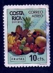 sello : America : Costa_Rica : Frutas