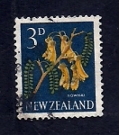 Sellos de Oceania - Nueva Zelanda -  Flor