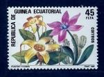 sello : Africa : Guinea_Ecuatorial : Flores