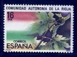 Stamps Spain -  Comunidad autonoma de Rioja