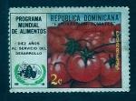sello : America : Rep_Dominicana : Tomates