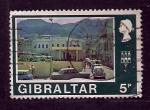 sello : Europa : Gibraltar : Barriada