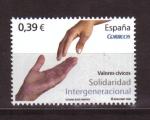 Sellos de Europa - España -  VALORES CÍVICOS
