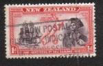 Stamps New Zealand -  Centenario