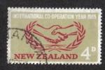 Sellos de Oceania - Nueva Zelanda -  I C Year