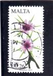Sellos de Europa - Malta -  FLORES-