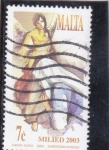 Stamps : Europe : Malta :  MILIED 2003