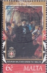 Stamps Malta -  SOBERANA ORDEN MILITAR DE MALTA
