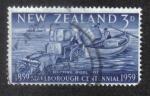 Sellos de Oceania - Nueva Zelanda -  Centenario de Marlborough