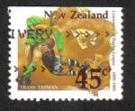 Sellos del Mundo : Oceania : Nueva_Zelanda : Centenario de la liga de rugby