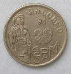 monedas de Europa - España -  1993 - 5 pesetas