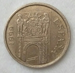 monedas de Europa - España -  1999 - 5 pesetas