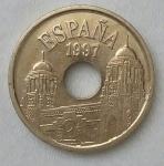 monedas de Europa - España -  1997 - 25 pesetas