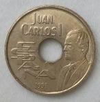 monedas de Europa - España -  1991 - 25 pesetas