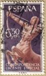 Stamps Europe - Spain -  Correspondencia Urgente, Alegoria