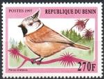Stamps : Africa : Benin :  PARUS  CRISTATUS