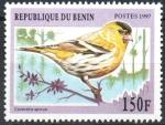Stamps : Africa : Benin :  CARDUELIS  SPINUS