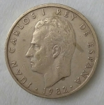 monedas de Europa - España -  1982 - 100 pesetas