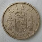 monedas de Europa - España -  1988 - 100 pesetas