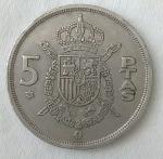 monedas de Europa - España -  1975 - 5 pesetas