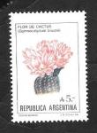 Stamps Argentina -  Flor de cactus