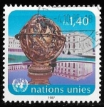 Stamps of the world : ONU :  ONU-cambio