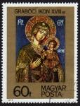 Sellos de Europa - Hungría -  COL-VIRGEN Y NIÑO JESÚS