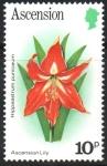 Stamps : Europe : United_Kingdom :  LIRIO  DE  LA  ASCENSION