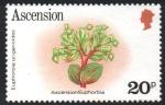 Stamps : Europe : United_Kingdom :  EUFORBIA  DE  ASCENSION