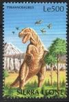 Stamps : Africa : Sierra_Leone :  TYRANNOSAURUS