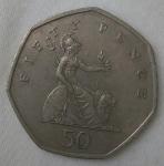 monedas de Europa - Reino Unido -  1997 fifty pence