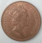 monedas de Europa - Reino Unido -  1997 two pence