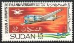 Stamps : Africa : Sudan :  DC - 3