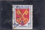 Sellos de Europa - Francia -  ESCUDO- condado Venaissin