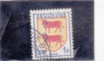 Stamps France -  ESCUDO- Bearn