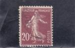 Sellos de Europa - Francia -  sembradora