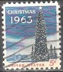 Sellos de America - Estados Unidos -  Navidad 1963