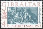 Stamps : Europe : Gibraltar :  NAVIDAD  DE  JUSTUS  DANCKERTS