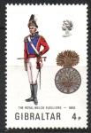 Stamps : Europe : Gibraltar :  OFICIAL  DE  FUSILEROS  REALES