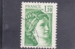 Sellos de Europa - Francia -  Sabine de Gandon
