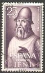 Stamps Morocco -  Ifni - 187 - Jofre Tenorio