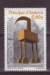 Stamps Andorra -  Patrimonio cultural