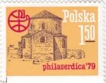 Sellos de Europa - Polonia -  IGLESIA