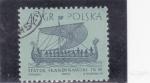 Sellos de Europa - Polonia -  BARCO VIKINGO