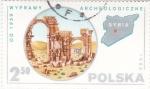 Stamps of the world : Poland :  ARQUEOLOGÍA EN SIRIA